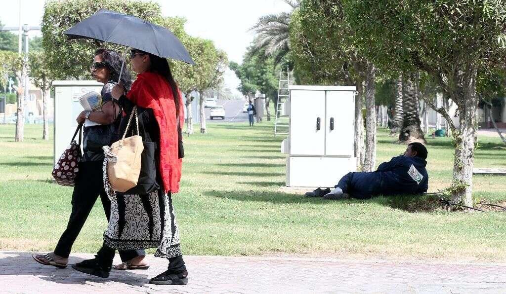 Beware of heat exhaustion in UAE