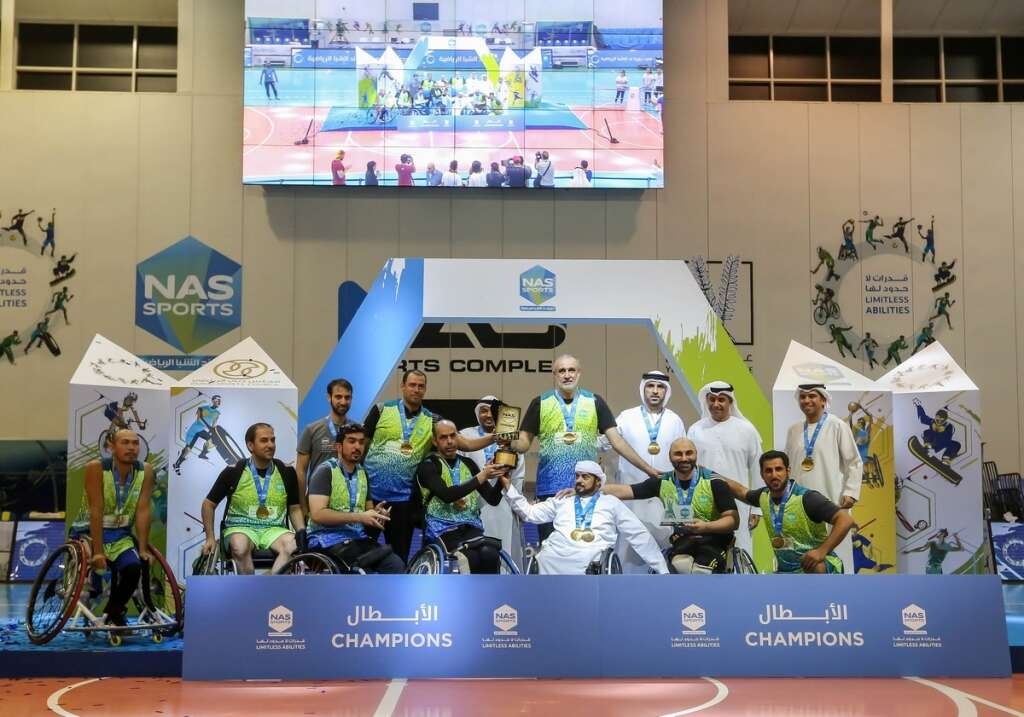 Dubai Municipality retain Wheelchair Basketball title - News