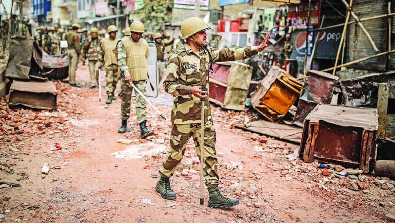 Delhi violence, riots