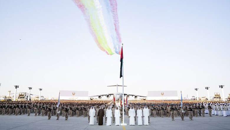 uae leaders, welcome soldiers, yemen, returning, armed soldiers, armed forces