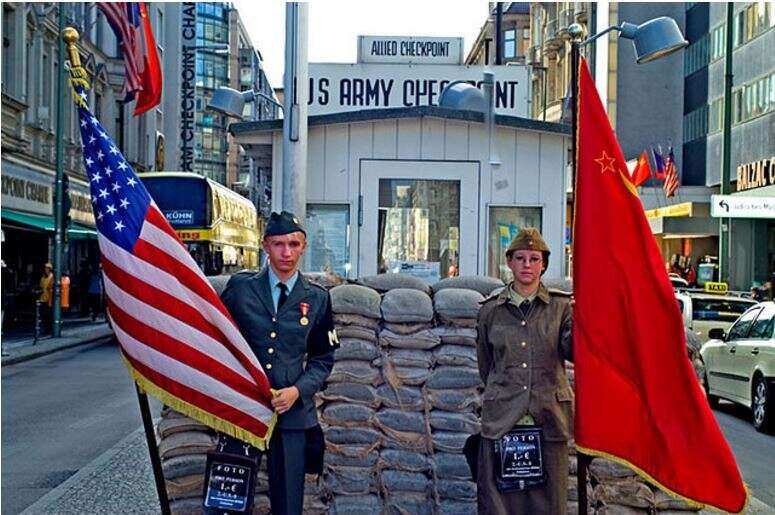 Palestine has its own version of Checkpoint Charlie