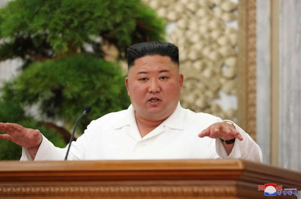 North Korea, leader, Kim Jong-Un, praised, shining, success, coronavirus, Covid-19, KCNA