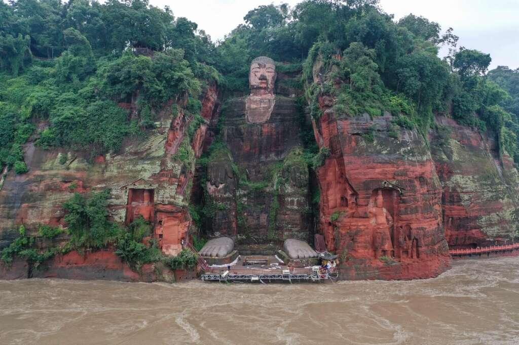 China, floods, heritage, Buddha, Shanghai