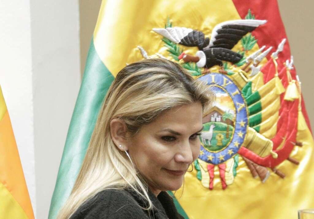 Bolivia, interim president, Jeanine Anez tested, positive, positive, coronavirus, Covid-19