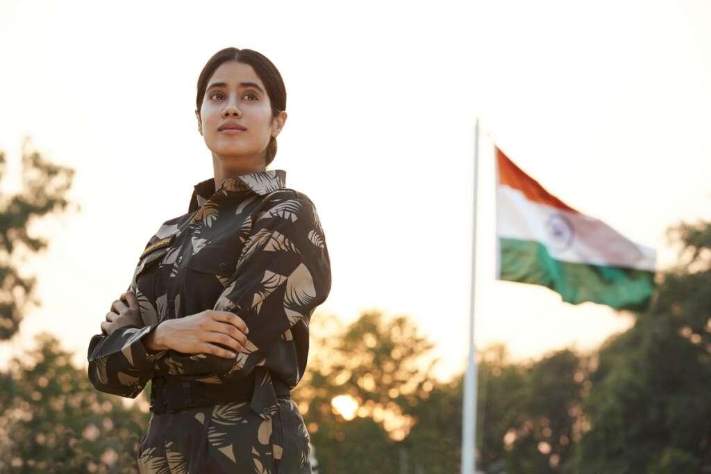 Gunjan Saxena, review, kargil girl, Janhvi Kapoor, Pankaj Tripathi, Netflix, OTT, streaming, Bollywood, nepotism, karan johar, Kargil war