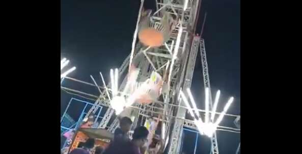 Video: 10-year-old girl dies in shocking giant wheel accident