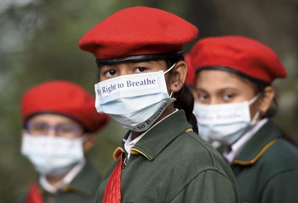 Delhi, Schools, air quality, Smoke, smog, fog