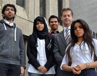 Studying abroad: Emirati students adjust to Ireland life