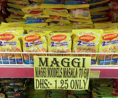 Dubai shelves finally dump Indian Maggi - News | Khaleej Times