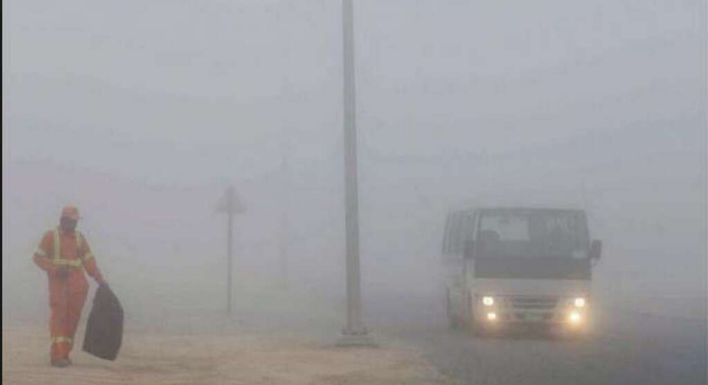 Weather: Fog wraps parts of UAE, visibility less than 500m
