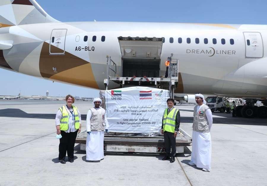 UAE, humanitarian, efforts, countries, worldwide, medical supplies, coronavirus, Covid-19