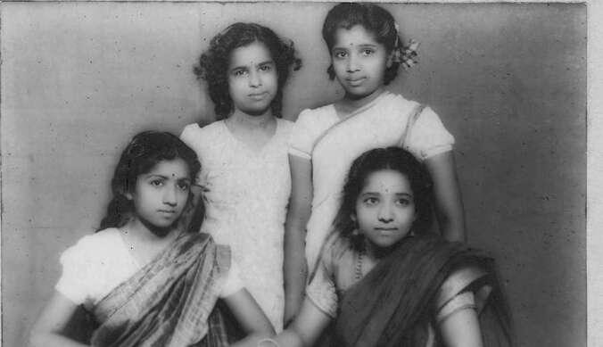 Lata Mangeshkar, birthday, Asha Bhosle, picture, nostalgic, childhood, memory, photo, Twitter