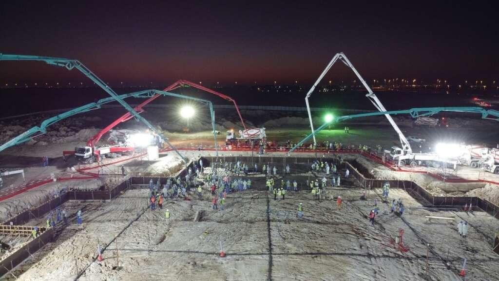 abu dhabi, hindu, temple, steel reinforcement, construction
