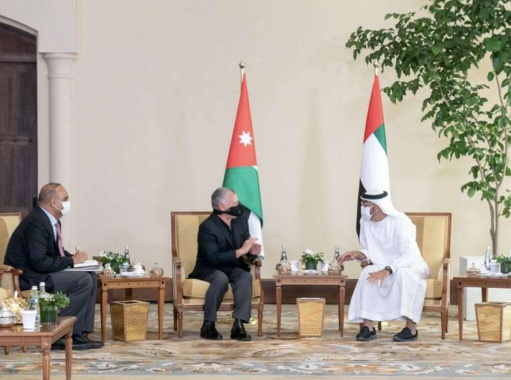 Sheikh Mohamed, welcomes, Jordan king, second home, UAE