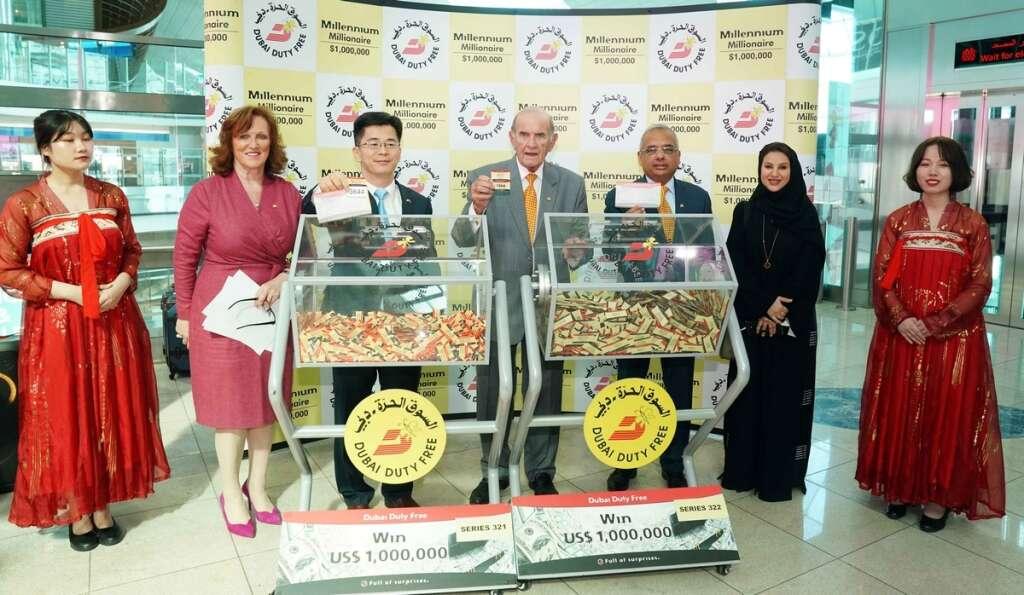 Dubai Duty Free, millennium millionaire, raffle draw, $1 million