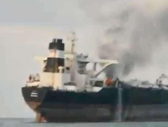 Bodies, oil tanker, fire victims, coast, Sharjah,