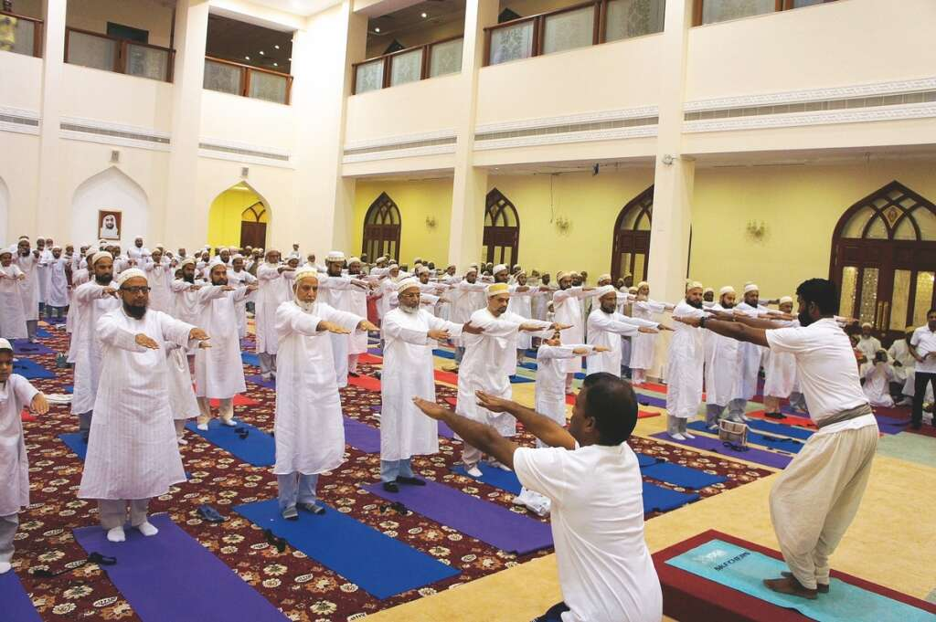 More than 700 Dawoodi Bohras roll out mats
