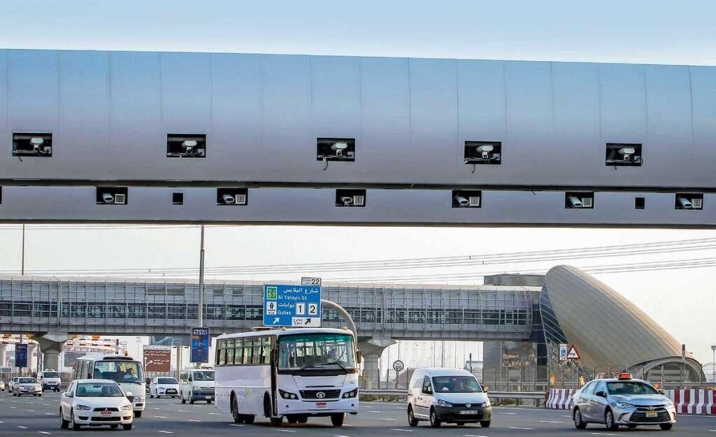 New Salik gate to come up on Sheikh Zayed Road in Dubai - Khaleej Times