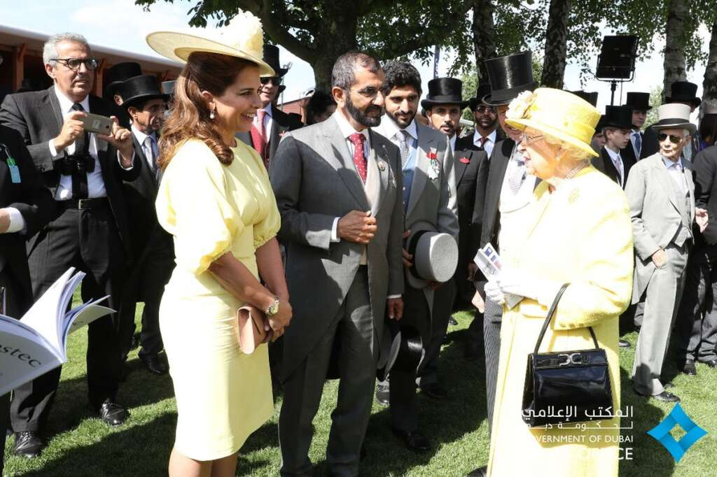 Photos: Dubai Royals discuss ties, Derby with Queen Elizabeth II