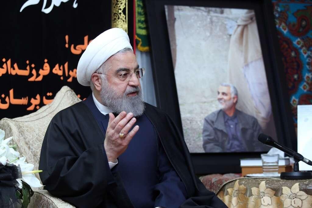 Hassan Rouhani, Trump, Iranian President, 52 targets, IR655, Iran Air 655