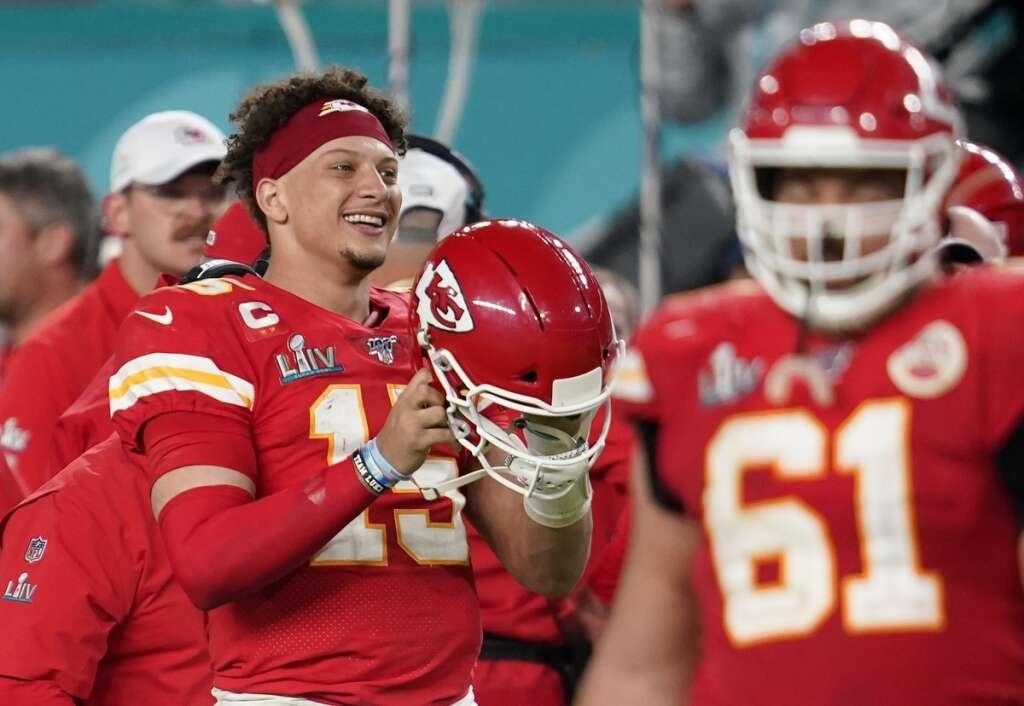 Mahomes, Patrick Mahomes,  Super Bowl win
