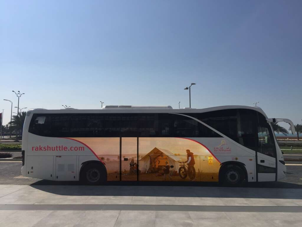 Special bus service to Ras Al Khaimah from Dubai airport