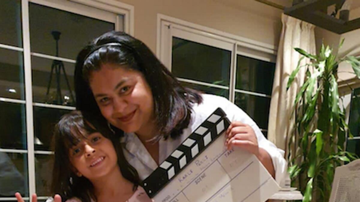 Ayesha Banerjee with child actor Lyla Beg (Photo/Supplied)