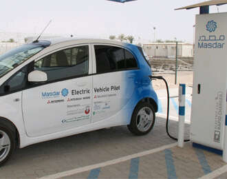 Masdar City Installs First Rapid Charger in ME