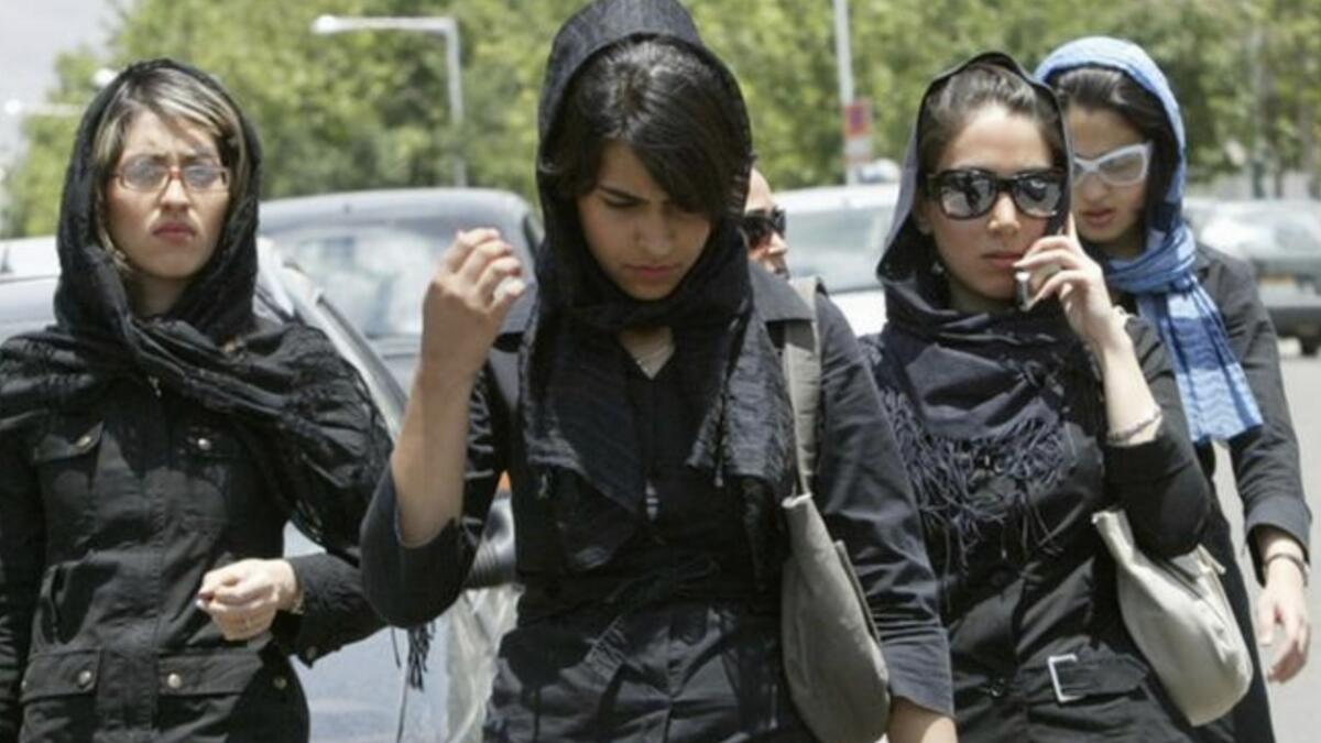 Iran sentences woman to 2 years in jail for removing headscarf