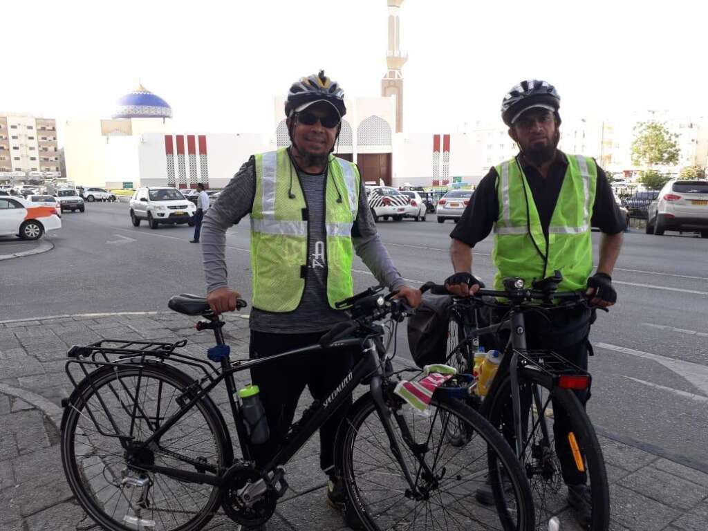 The duo hope to reach Makkah by July 25, just in time for Hajj that will start on August 9. -Supplied photo