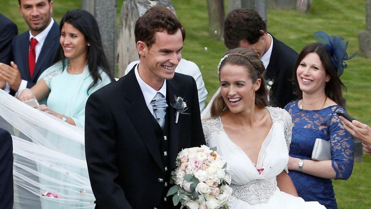Murray makes online plea to help find stolen wedding ring