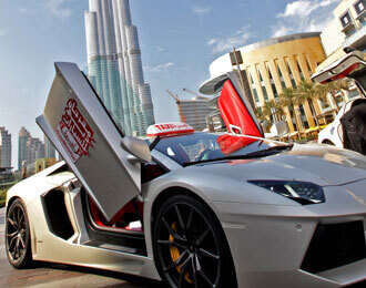 Supercar Taxis to offer free rides this weekend in Dubai