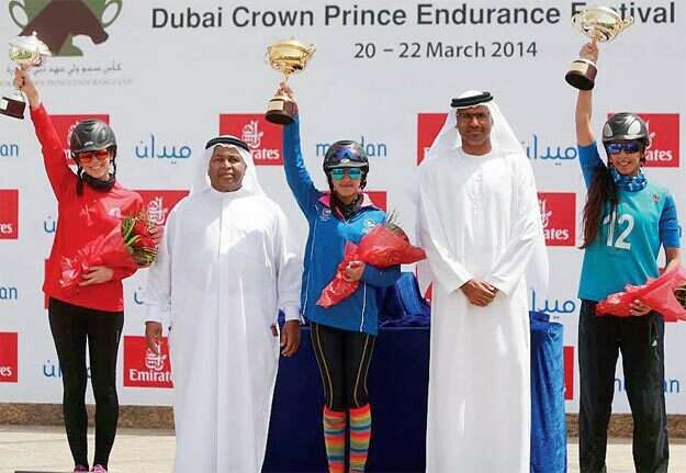 Khloud Al Khoury claims glory at Endurance City