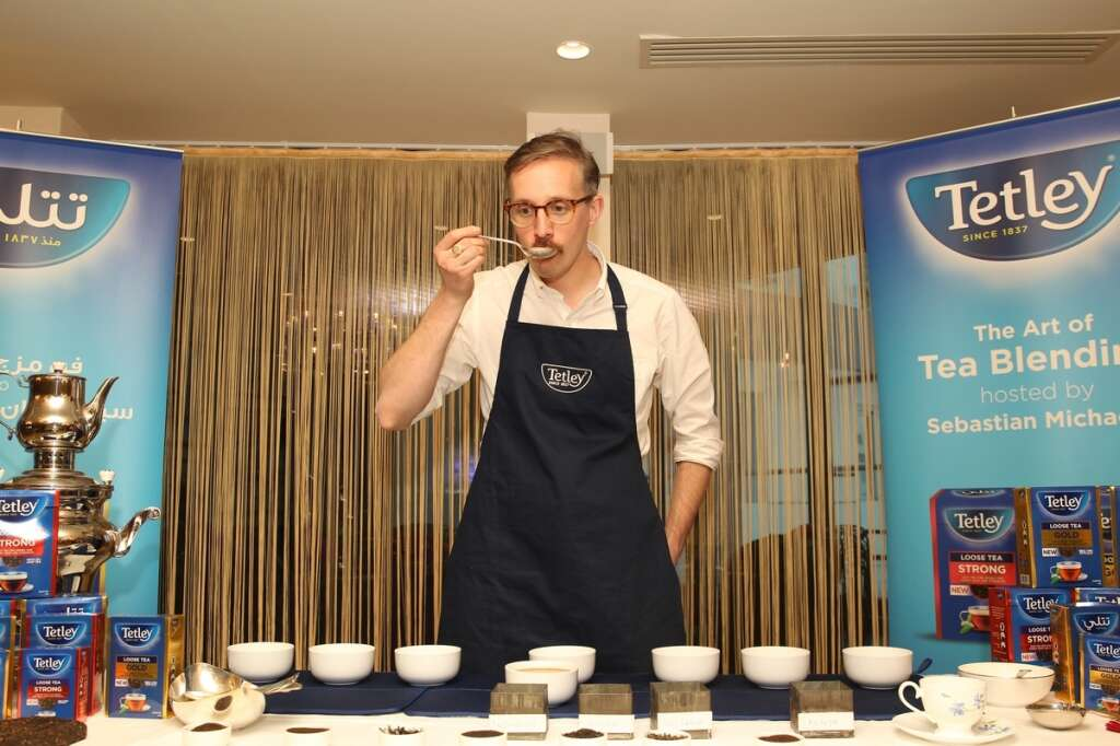 Tea taster with a tongue worth Dh5 million