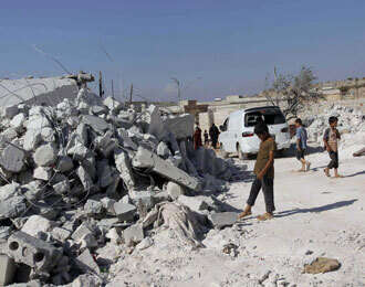 United States defends Syria airstrikes in letter to UN chief