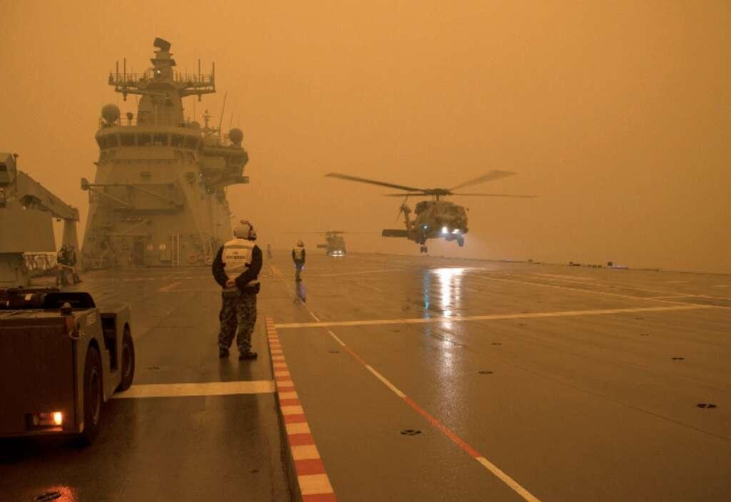 Australia, UAE Red Crescent, volunteers, bushfires
