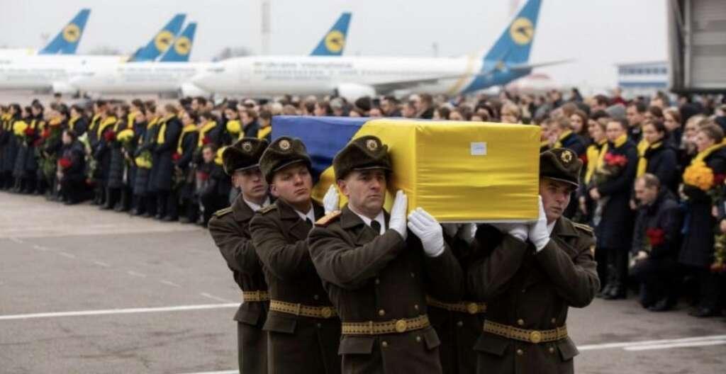 ukrainian, victims, iran, plane crash, returned home, return home
