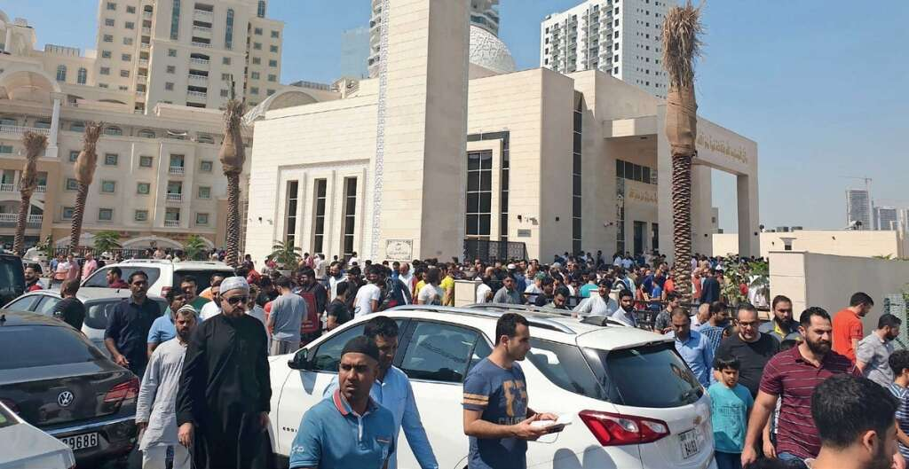 Residents, rejoice, new mosque, opening, Dubai locality,