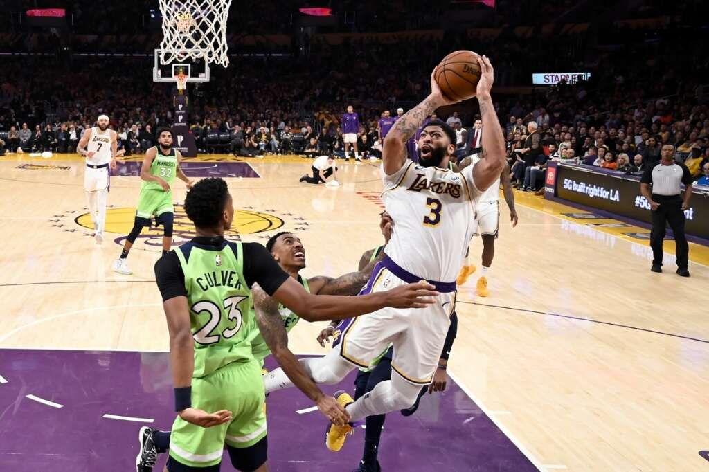 Davis Scores 50 To Lift Los Angeles Lakers News Khaleej