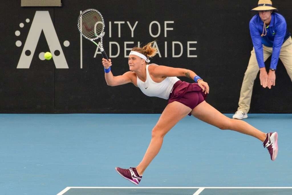 Halep knocked out in Adelaide quarterfinals