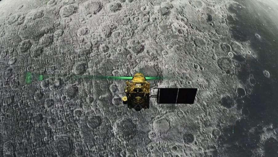 Did Vikram lander lose control and crash-land on the moon