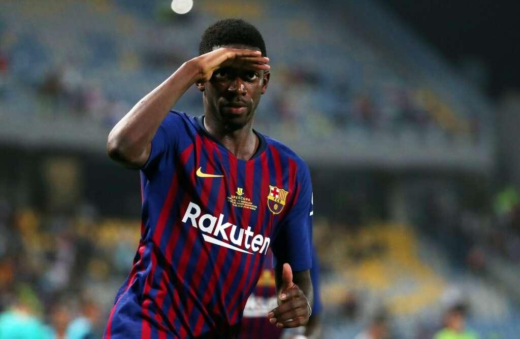 ff7eb0b3f568 Dembele to miss Atletico clash, doubt for United - Khaleej Times