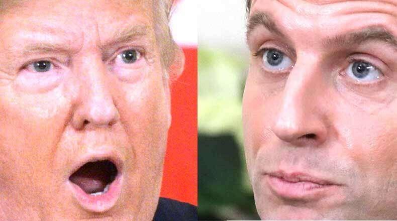 Trump-Macron, spat, fuels, Nato divisions, President Donald Trump, French President Emmanuel Macron, Nato conference