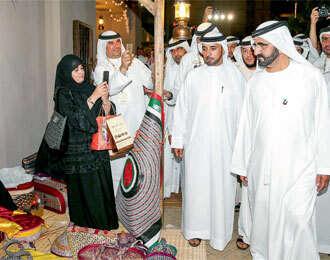 Shaikh Mohammed visits DWHC 2014
