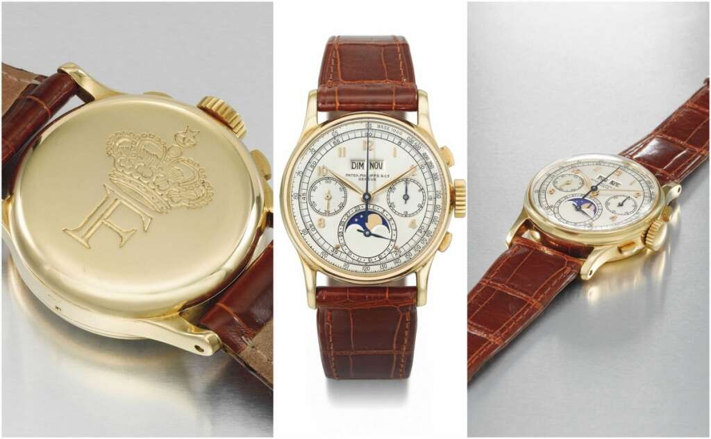 Dh2.9m watch belonging to Egyptian royal to be auctioned in Dubai