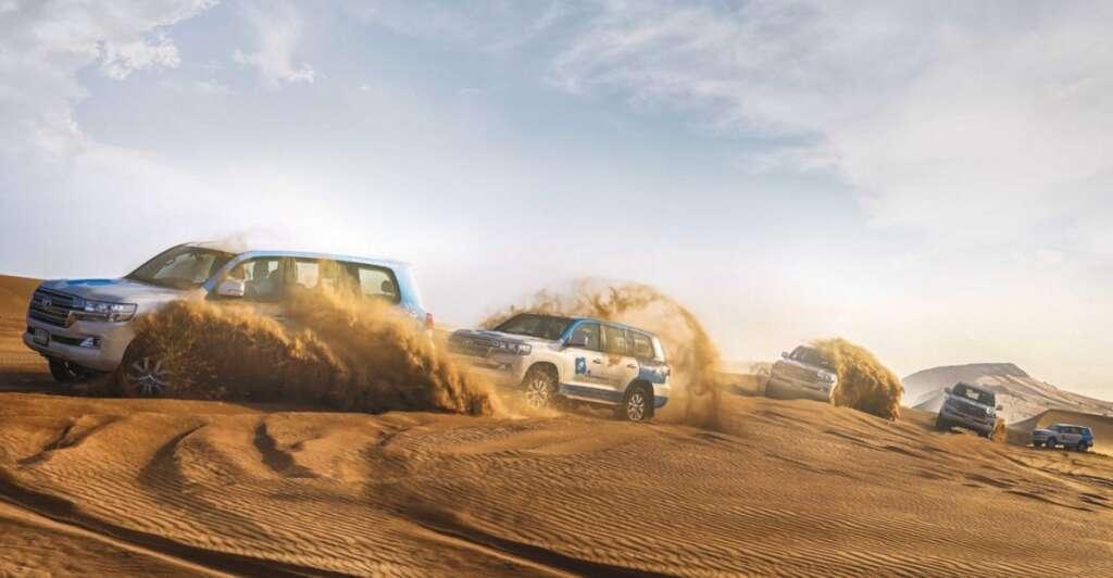 Dubai's desert safari, tourism, OceanAir, UAE