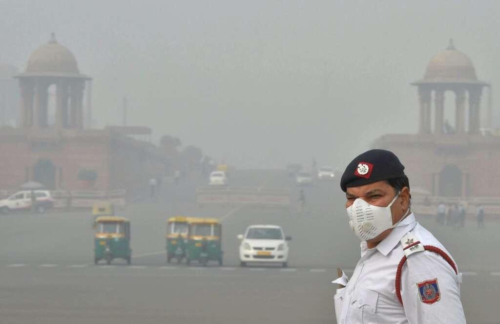 Delhi, SAFAR, AQI, Thick toxic, air quality