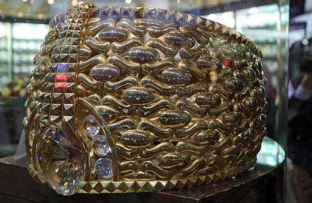 Where in Dubai can you see world's heaviest gold ring - News