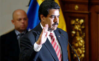 Nicolas Maduro sworn in as Venezuelan president