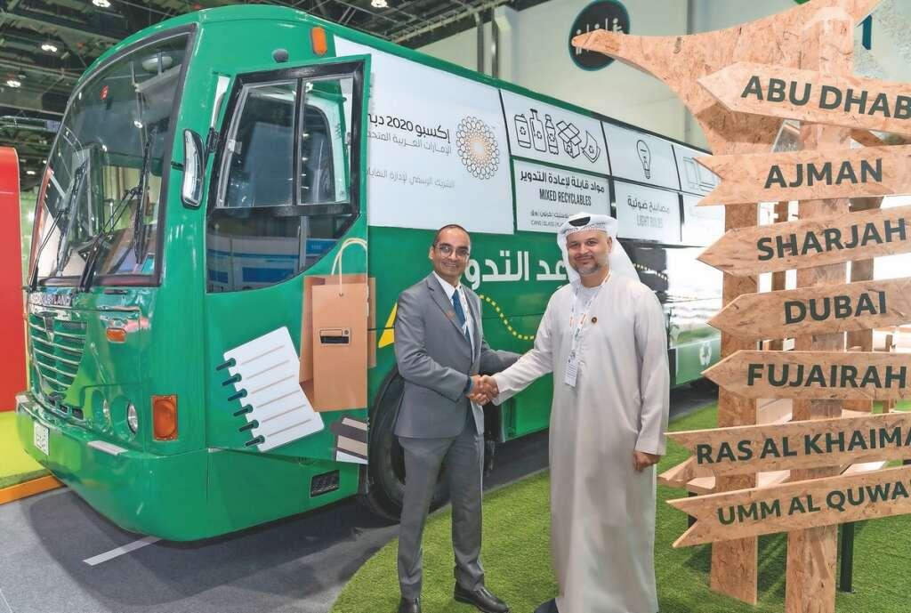 dulsco, bus, abu dhabi, sustainability